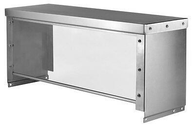 "32"" Universal Serving Guard for 2 Well Steam and Cold Pan Tables"