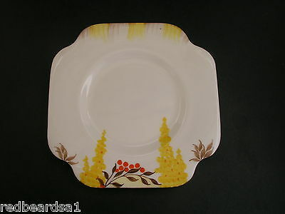 China Replacement Grafton Vintage Art Deco Tea Plate Hand Painted 5773 c1930s