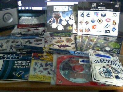 A Huge Mixed  Lot Of Sport And Non Sport Sticker Collector Lot