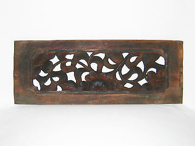 Chinesisches Holz-Paneel, China, 37 cm, 19. Jh. / Antique Chinese Wooden Panel