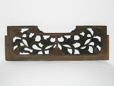 Chinesisches Holz-Paneel, China, 36 cm, 19. Jh. / Antique Chinese Wooden Panel
