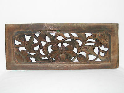 Chinesisches Holz-Paneel, China, 35 cm, 19. Jh. / Antique Chinese Wooden Panel