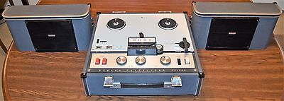 Sony TC-200 Stereo Tapecorder Reel to Reel Tape Recorder