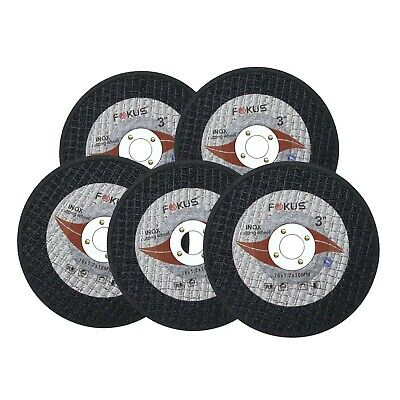 20 Pack Ultra Thin Disc 3'' x 1/16'' Metal & Stainless Steel Cut Off Wheels