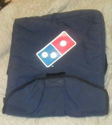 Dominos Hot Bag Heat Wave Insulated Velcro New Logo Used