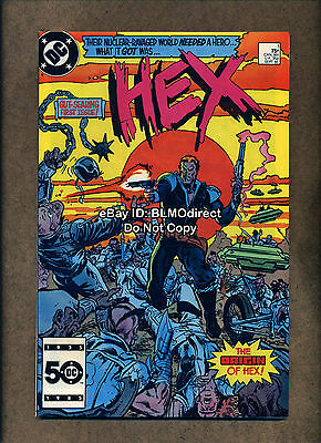 1985 Hex #1 First Appearance Future Jonah Hex VF/NM 1st Print DC Comics Western