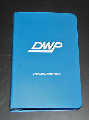 Duluth Winnipeg & Pacific (DWP) Operating Time Table - No. 19 - October 1981