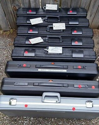 LOT of 8 Scope Cases - (x5) Gyrus Acmi /  (x2) Wolf /  (x1) Storz