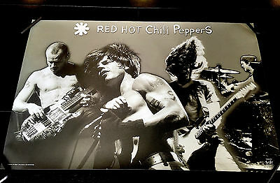 Red Hot Chili Peppers Oop Rare 2003 Poster Tags: Janes Addiction Frusciante Flea