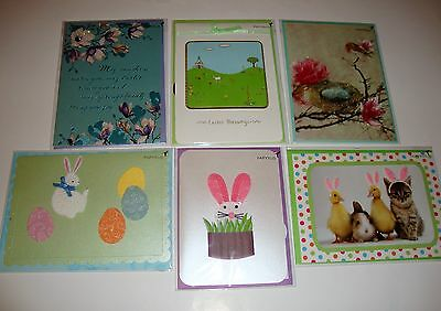 New Papyrus Sealed Lot Of 6 Easter Greeting Cards $37.70 Value