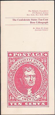 Five Different Brian Green Confederate Stamp Booklets