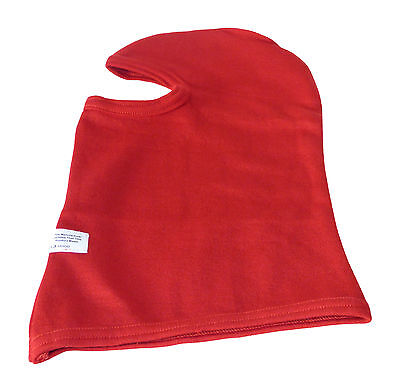 SFI APPROVED Fireproof NOMEX  RED BALACLAVA Race Speedway - DRAG - Jet Sprint