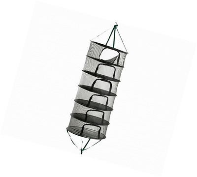 Hydrofarm STACK!T Dry Rack with Zipper, 2-Feet