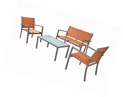 Traxion 4-210 Outdoor Patio Furniture Set