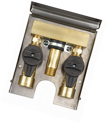 Burnaby Manufacturing Ltd G0101-DBL-SS-L90 Gas Plug Double Gas Outlet Stainless