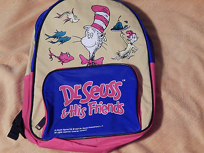 Dr. Suess & His Friends + In Search of Dr. Suess + (Backpack,VHS x3) Free Ship.)