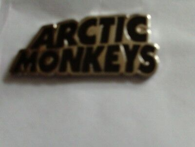 Arctic Monkeys New Enamel Metal Pin Badge Black Silver Length 1.5 Inches / 40 Mm