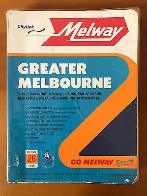 Melway - Melbourne - Edition 26 - 1999
