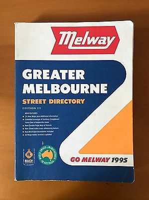 Melway - Melbourne - Edition 23 - 1995