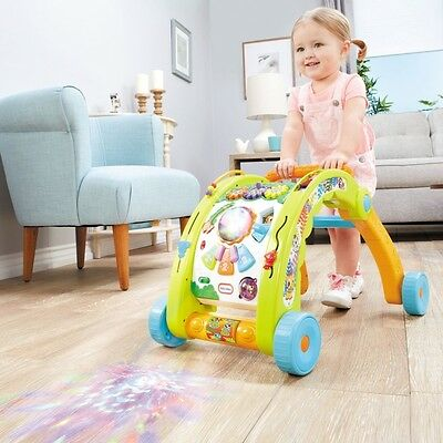 Little Tikes LIGHT AND GO 3 IN 1 ACTIVITY AND WALKER w over 70 activities