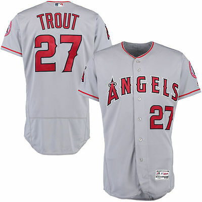 MLB Mike Trout Authentic Cool Base Angels Jersey XL NWT