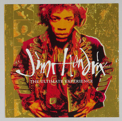 Jimi Hendrix The Ultimate Experience 1992 Album Vintage 12x12 Poster 2 side