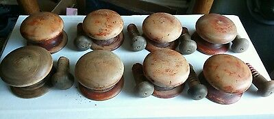 Original Reclaimed Victorian Knobs Handles Chest Drawers Furniture x8
