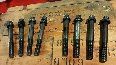 Harley Ironhead Sportster Cylinder Head Bolts L73-85 12 Point OEM Hardware XLH