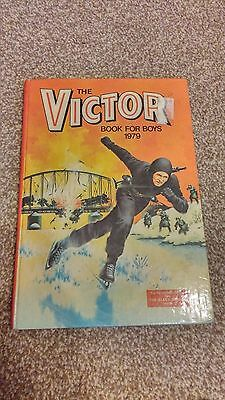The Victor Book For Boys 1979