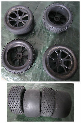 roues 1/10  pour RC  jeep, 4X4, buggy type tamyia, kyosho, axial, graupner