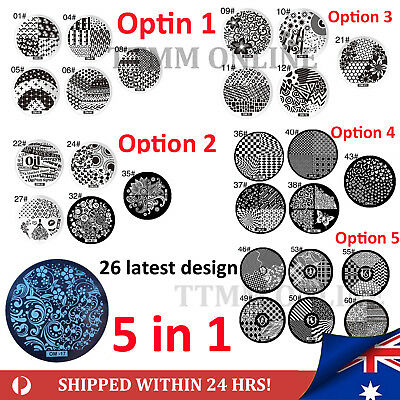 clearance Nail Art Stamp Template Image Polish Stamping Plate Stencil Design