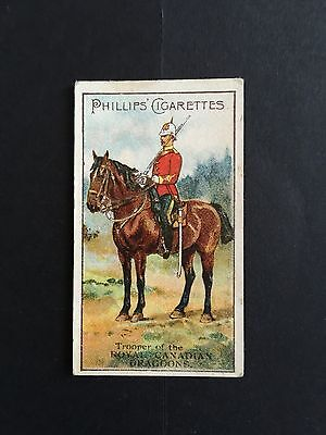 Cigarette Cards & Collectables **Godfrey Phillips, Royal Canadian Dragoon M673**