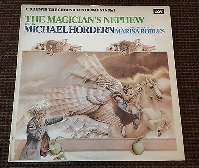 THE MAGICIANS NEPHEW NARNIA LP Michael Hordern