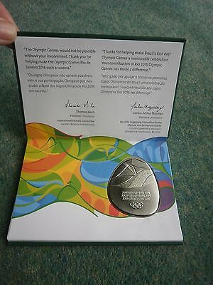 RIO 2016 Summer Olympic Games Participation Medal - Boxed