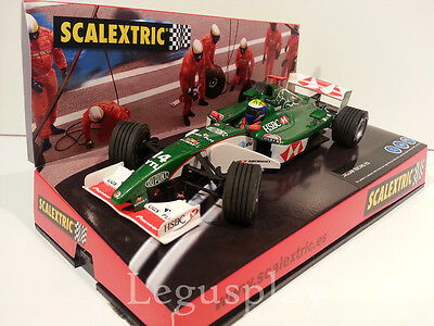 "Slot SCX Scalextric 6154 Jaguar Racing R3  ""Sepang"""