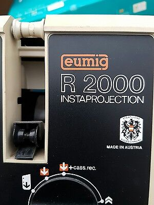 Eumig R2000 InstaProjection Dual Format 8mm TV Style Cine Projector