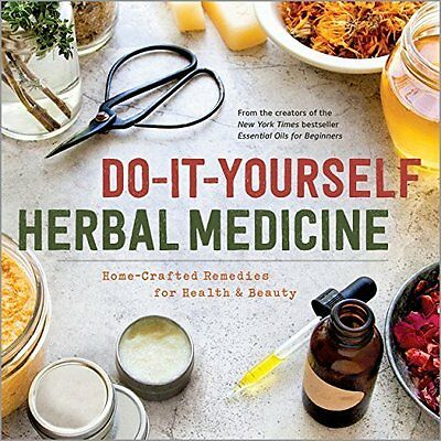 Do-It-Yourself Herbal Medicine by Sonoma Press New Paperback Book