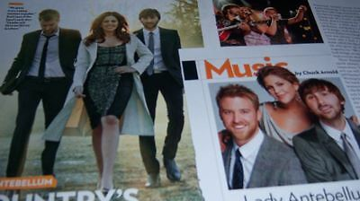 Lady Antebellum 19 pc German Clippings Collection