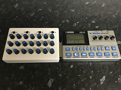 RARE modified Analog BOSS DR110 with Din Sync 24 + Tonal tweaks like TR606/TR808