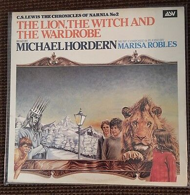The Lion The Witch And The Wardrobe Narnia Lp Michael Hordern