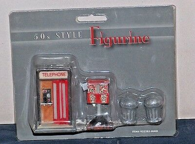 G-SCALE SCENERY 50's STYLE FIGURINES-New