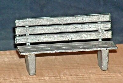 G-SCALE SCENERY ITEM-PARK BENCH-New