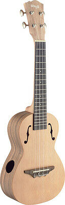 Exotic series, traditional tenor ukulele with solid cedar top