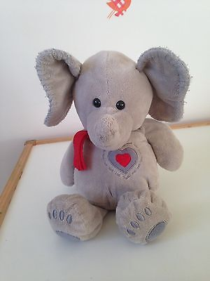 Plush Soft Toy ELEPHANT Very Soft Boa Material, 30cm