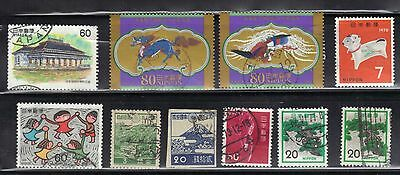 Japan Used  Stamps Lot# 19  Very Nice Stamps