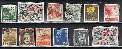 Japan Used  Stamps Lot# 20  Very Nice Stamps
