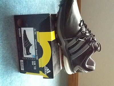 Adidas adipower boost Golf shoes size 10 WIDE in black