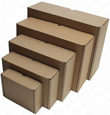 Shipping Storage Boxes Postal Mailing Gift Packet Small Parcel Strong Cardboard