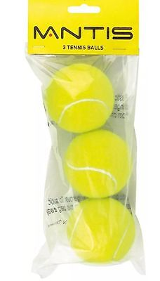 MANTIS Trainer Tennis Balls - Pack of 3
