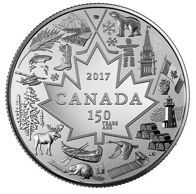 CANADA 2017 Heart of Our Nation $3 Pure Silver Coin 150th Anniversary PREORDER
